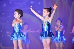 Σύγχρονος χορός χορού παιδιών Στοκ Εικόνα