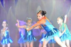 Σύγχρονος χορός χορού παιδιών Στοκ φωτογραφίες με δικαίωμα ελεύθερης χρήσης