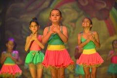 Σύγχρονος χορός χορού παιδιών Στοκ Φωτογραφίες