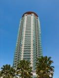 σύγχρονος ψηλός οικοδόμ&et στοκ φωτογραφία με δικαίωμα ελεύθερης χρήσης