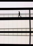 Σύγχρονο άτομο γραφείων Στοκ φωτογραφίες με δικαίωμα ελεύθερης χρήσης