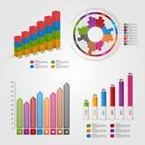 Σύγχρονο έμβλημα επιλογών επιχειρησιακών διαγραμμάτων και γραφικών παραστάσεων για το infographics ή τις παρουσιάσεις ελεύθερη απεικόνιση δικαιώματος