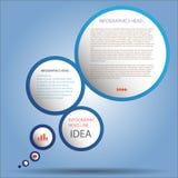 Σύγχρονο έμβλημα επιλογών ύφους επιχειρησιακών κύκλων διάνυσμα/απεικόνιση Στοκ Εικόνες