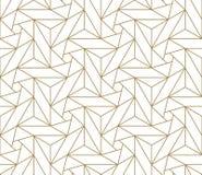 Σύγχρονο απλό γεωμετρικό διανυσματικό άνευ ραφής σχέδιο με τη χρυσή σύσταση γραμμών στο άσπρο υπόβαθρο Ελαφριά αφηρημένη ταπετσαρ στοκ εικόνες με δικαίωμα ελεύθερης χρήσης