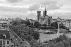 σύγχρονο απλάδι ποταμών του Παρισιού γεφυρών Στοκ Φωτογραφίες