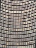 Σύγχρονο αρχιτεκτονικό σχέδιο, κοίλη πρόσοψη ουρανοξυστών, Σικάγο στοκ εικόνα