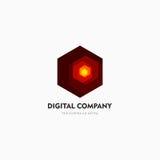 Σύγχρονο αφηρημένο διανυσματικό σχέδιο λογότυπων ή στοιχείων Το καλύτερο για την ταυτότητα και logotypes Απλή μορφή Στοκ Φωτογραφία