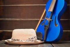 Σύγχρονο βιολί Στοκ Φωτογραφία