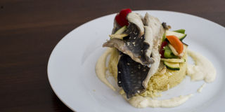 Σύγχρονο γεύμα Στοκ φωτογραφία με δικαίωμα ελεύθερης χρήσης
