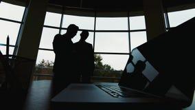 σύγχρονο γραφείο επιχειρησιακής συνεδρίασης απόθεμα βίντεο