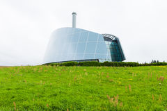 Σύγχρονο γυαλί βιομηχανικού κτηρίου Στοκ Φωτογραφία