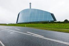 Σύγχρονο γυαλί βιομηχανικού κτηρίου Στοκ Εικόνες