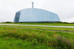 Σύγχρονο γυαλί βιομηχανικού κτηρίου Στοκ Εικόνα