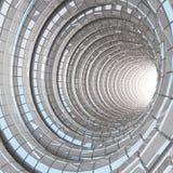 Σύγχρονο γυαλί σπηλιών σηράγγων Στοκ Εικόνα