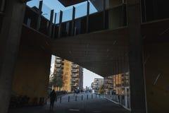 Σύγχρονο δανικό αστικό σχέδιο στοκ φωτογραφία με δικαίωμα ελεύθερης χρήσης