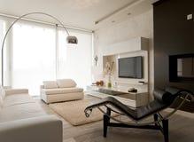 σύγχρονο δωμάτιο διαβίωσης Στοκ Φωτογραφίες