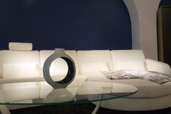 σύγχρονο δωμάτιο διαβίωσης στοκ εικόνες