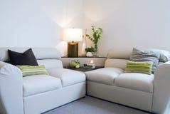 σύγχρονο δωμάτιο διαβίωσ& Στοκ Φωτογραφίες