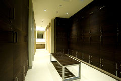 σύγχρονο δωμάτιο ντουλαπιών Στοκ φωτογραφίες με δικαίωμα ελεύθερης χρήσης