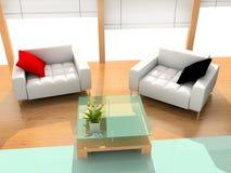 σύγχρονο δωμάτιο ξενοδο Στοκ Εικόνα