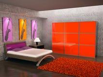 σύγχρονο δωμάτιο 3 ελεύθερη απεικόνιση δικαιώματος