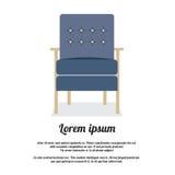 Σύγχρονο εκλεκτής ποιότητας ύφος καναπέδων Στοκ φωτογραφία με δικαίωμα ελεύθερης χρήσης