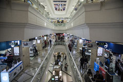 Σύγχρονο εμπορικό κέντρο, Σαγκάη Στοκ φωτογραφία με δικαίωμα ελεύθερης χρήσης