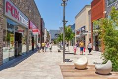 Σύγχρονο εμπορικό κέντρο σε Ashdod, Ισραήλ Στοκ φωτογραφία με δικαίωμα ελεύθερης χρήσης