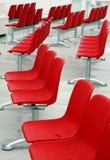 σύγχρονο εξωτερικό κόκκινο εδρών Στοκ φωτογραφία με δικαίωμα ελεύθερης χρήσης