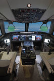 Σύγχρονο επιβατηγό αεροσκάφος Στοκ φωτογραφία με δικαίωμα ελεύθερης χρήσης