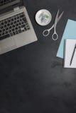Σύγχρονο επιχειρησιακό γραφείο ατόμων ` s άνωθεν με το διάστημα αντιγράφων Στοκ εικόνα με δικαίωμα ελεύθερης χρήσης