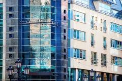 Σύγχρονο επιχειρησιακό κτήριο σε Wroclaw, Πολωνία Στοκ Εικόνες