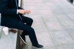 Σύγχρονο επιχειρησιακό πρόσωπο Στοκ εικόνες με δικαίωμα ελεύθερης χρήσης