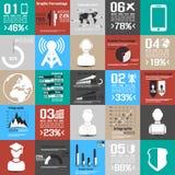 Σύγχρονο επιχειρησιακό τετραγωνικό υπόβαθρο Στοκ εικόνες με δικαίωμα ελεύθερης χρήσης
