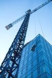 Σύγχρονο εργοτάξιο οικοδομής αρχιτεκτονικής Στοκ φωτογραφία με δικαίωμα ελεύθερης χρήσης