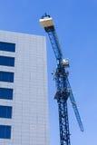 Σύγχρονο εργοτάξιο οικοδομής αρχιτεκτονικής Στοκ εικόνες με δικαίωμα ελεύθερης χρήσης