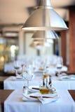 σύγχρονο εστιατόριο Στοκ Φωτογραφίες