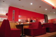 σύγχρονο εστιατόριο Στοκ εικόνες με δικαίωμα ελεύθερης χρήσης