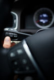 Σύγχρονο εσωτερικό αυτοκινήτων στοκ φωτογραφίες