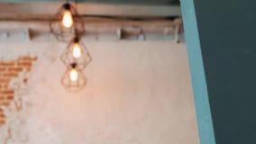 Σύγχρονο εσωτερικό γραφείων με τον παλαιό εκλεκτής ποιότητας τουβλότοιχο ένα πραγματικό σύγχρονο εσωτερικό στο ύφος σοφιτών Ανοίξ απεικόνιση αποθεμάτων