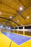 Σύγχρονο εσωτερικό γυμναστικής Στοκ Εικόνες