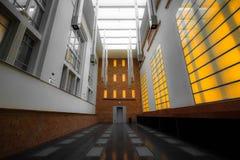 Σύγχρονο εσωτερικό κτηρίου Στοκ εικόνες με δικαίωμα ελεύθερης χρήσης