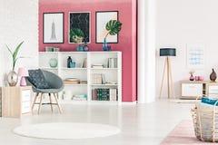 Σύγχρονο εσωτερικό σχέδιο καθιστικών Στοκ Εικόνα