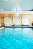 σύγχρονο θέρετρο ski spa πολυτέλειας ξενοδοχείων Στοκ Εικόνες