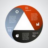 Σύγχρονο διανυσματικό πρότυπο για το επιχειρησιακό πρόγραμμά σας Στοκ Εικόνα