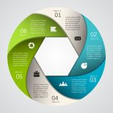 Σύγχρονο διανυσματικό πρότυπο για το επιχειρησιακό πρόγραμμά σας Στοκ Φωτογραφίες