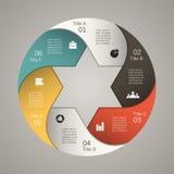 Σύγχρονο διανυσματικό πρότυπο για το επιχειρησιακό πρόγραμμά σας Στοκ Εικόνες