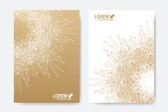 Σύγχρονο διανυσματικό πρότυπο για το φυλλάδιο, το φυλλάδιο, το ιπτάμενο, την κάλυψη, το περιοδικό ή τη ετήσια έκθεση Επιχείρηση,  Στοκ Εικόνα