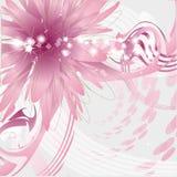 Σύγχρονο διανυσματικό floral υπόβαθρο Στοκ Φωτογραφίες