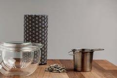 Σύγχρονο ιαπωνικό τσάι που κάνει καθορισμένο Στοκ Εικόνες